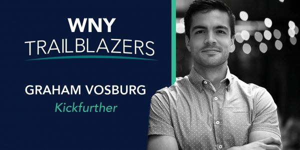 Western New York Trailblazer: Graham Vosburg, Kickfurther