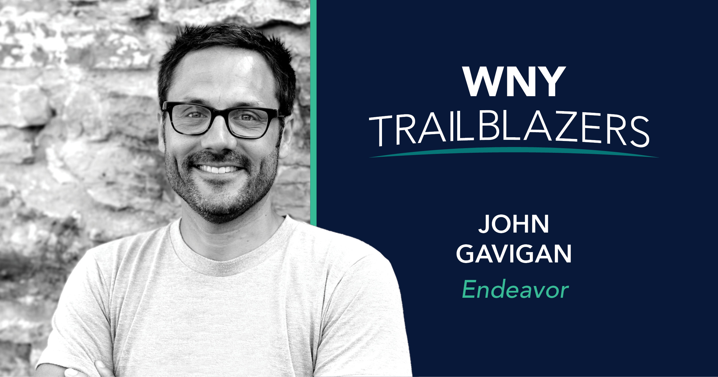 Western New York Trailblazer: John Gavigan, Endeavor