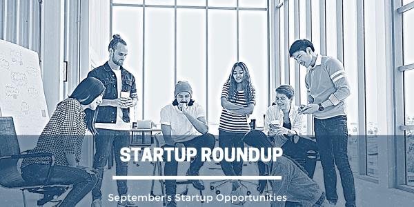 September Startup Roundup